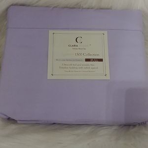 Clara Clark 1500 Collection Full Lavender Sheets